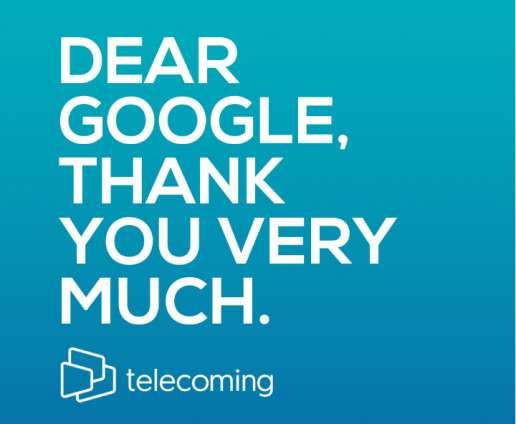 Telecoming - Google's Success Story