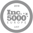 Inc. 5000 Europe 2018 - fastest-growing private companies in Europe