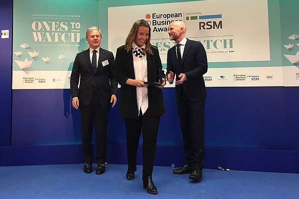 Telecoming, the Spanish National Winner at the European Business Awards