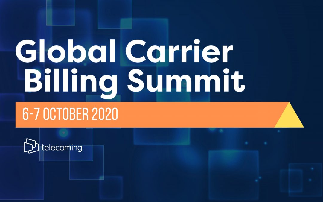 Telecoming supports Global Carrier Billing Summit 2020 as an official sponsor
