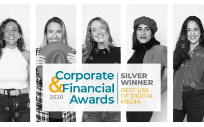 Telecoming wins Silver at the Corporate and Financial Awards