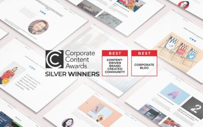 Telecoming's blog acknowledged in the Corporate Content Awards 2021