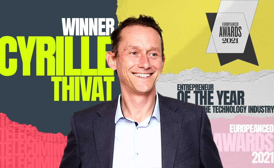 CEO of the Year in the Tech industry … Congratulations Cyrille!